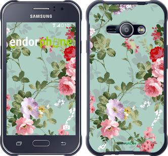 """Чехол для Samsung Galaxy J1 Ace J110H """"Цветочные обои 2"""" - интернет-магазин чехлов endorphone.com.ua"""