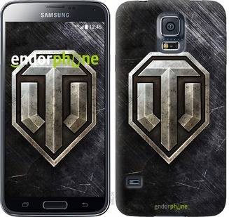 "Чехол для Samsung Galaxy S5 Duos SM G900FD ""World of tanks v3"" - интернет-магазин чехлов endorphone.com.ua"