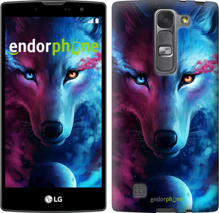 """Силиконовый чехол для LG Magna H502F """"Арт-волк"""" - интернет-магазин чехлов endorphone.com.ua"""