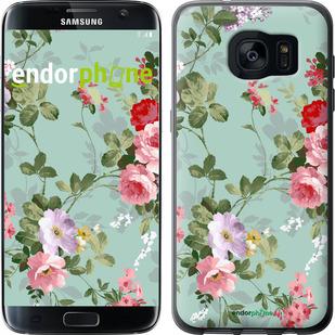 """Чехол для Samsung Galaxy S7 Edge G935F """"Цветочные обои 2"""" - интернет-магазин чехлов endorphone.com.ua"""