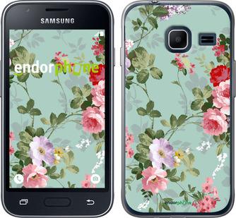 """Чехол для Samsung Galaxy J1 Mini J105H """"Цветочные обои 2"""" - интернет-магазин чехлов endorphone.com.ua"""