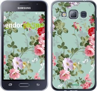 """Чехол для Samsung Galaxy J1 (2016) Duos J120H """"Цветочные обои 2"""" - интернет-магазин чехлов endorphone.com.ua"""