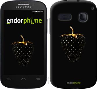 """Силиконовый чехол для Alcatel One Touch Pop C3 4033D """"Черная клубника"""" - интернет-магазин чехлов endorphone.com.ua"""