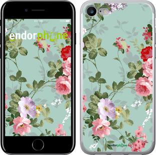 """Чехол для iPhone 7 """"Цветочные обои 2"""" - интернет-магазин чехлов endorphone.com.ua"""