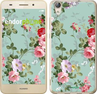 """Чехол для Huawei Y6 II """"Цветочные обои 2"""" - интернет-магазин чехлов endorphone.com.ua"""