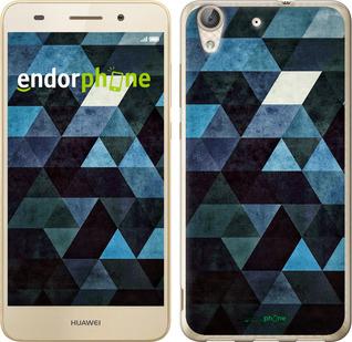 """Чехол для Huawei Y6 II """"Треугольники"""" - интернет-магазин чехлов endorphone.com.ua"""