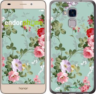 """Чехол для Huawei Honor 5C """"Цветочные обои 2"""" - интернет-магазин чехлов endorphone.com.ua"""