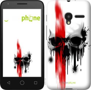 """Силиконовый чехол для Alcatel One Touch Pixi 3 4.5 """"Biohazard  13"""" - интернет-магазин чехлов endorphone.com.ua"""