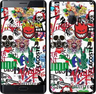 """Силиконовый чехол для Xiaomi Mi Note 2 """"Many different logos"""" - интернет-магазин чехлов endorphone.com.ua"""