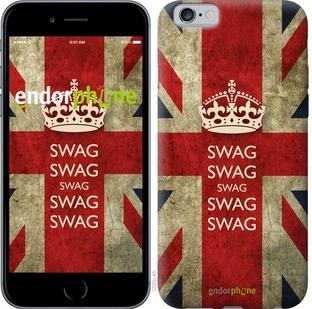 """Чехол для iPhone 6s """"Флаг Великобритании. Сваг"""" - интернет-магазин чехлов endorphone.com.ua"""