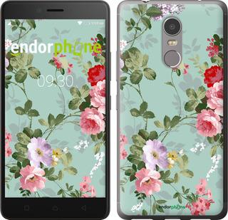 """Чехол для Lenovo K6 Note """"Цветочные обои 2"""" - интернет-магазин чехлов endorphone.com.ua"""