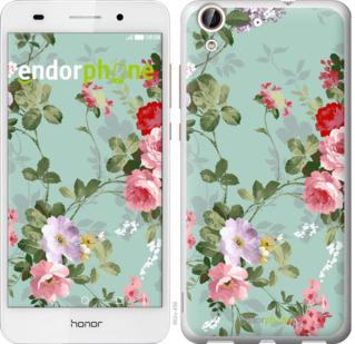 """Силиконовый чехол для Huawei Honor 5A """"Цветочные обои 2"""" - интернет-магазин чехлов endorphone.com.ua"""