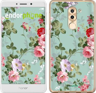 """Чехол для Huawei Honor 6X """"Цветочные обои 2"""" - интернет-магазин чехлов endorphone.com.ua"""