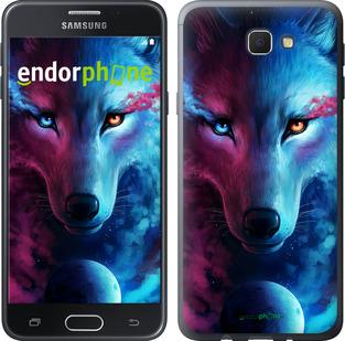 """Силиконовый чехол для Samsung Galaxy J5 Prime """"Арт-волк"""" - интернет-магазин чехлов endorphone.com.ua"""
