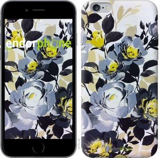 """Чехол для iPhone 6 Plus """"Цветы акварелью 3"""" - интернет-магазин чехлов endorphone.com.ua"""