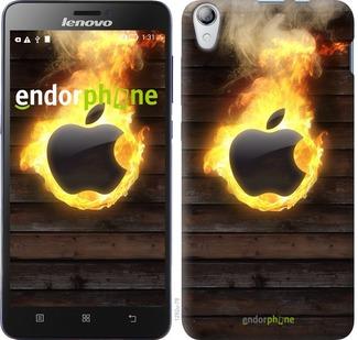 """Чехол для Lenovo S850 """"Apple fire"""" - интернет-магазин чехлов endorphone.com.ua"""