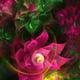 """Чехол для iPhone 5 """"Абстрактные цветы 2"""" - интернет-магазин чехлов endorphone.com.ua"""