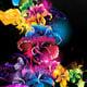 """Силиконовый чехол для Alcatel One Touch Pop C3 4033D """"Абстрактные цветы"""" - интернет-магазин чехлов endorphone.com.ua"""