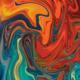 """Гибридный чехол для iPhone 5 """"Абстрактный фон"""" - интернет-магазин чехлов endorphone.com.ua"""