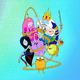 "Чехол для iPhone 5 ""Adventure time. Heroes. Принцесса Пупырка"" - интернет-магазин чехлов endorphone.com.ua"