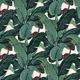 """Гибридный чехол для iPhone 5 """"Банановые листья"""" - интернет-магазин чехлов endorphone.com.ua"""