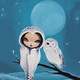"""Чехол для iPhone 5 """"Девушка птица"""" - интернет-магазин чехлов endorphone.com.ua"""