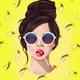 """Чехол для iPhone SE """"Девушка с чупа-чупсом"""" - интернет-магазин чехлов endorphone.com.ua"""