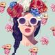 "Чехол для iPhone 11 Pro Max ""Девушка с цветами"" - интернет-магазин чехлов endorphone.com.ua"