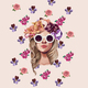 "Чехол для Samsung Galaxy S3 mini ""Девушка с цветами v2"" - интернет-магазин чехлов endorphone.com.ua"