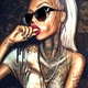 """Защитный чехол для iPhone 5 """"Девушка в тату"""" - интернет-магазин чехлов endorphone.com.ua"""