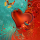 "Чехол для Sony Xperia E4 Dual E2115 ""Сердце в цветах"" - интернет-магазин чехлов endorphone.com.ua"