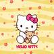 "Чехол для iPhone 5 ""Hello kitty. Yellow"" - интернет-магазин чехлов endorphone.com.ua"