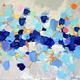 """Чехол для iPhone 5 """"Холст с красками"""" - интернет-магазин чехлов endorphone.com.ua"""