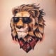 "Чехол для iPhone 11 Pro Max ""Lion 2"" - интернет-магазин чехлов endorphone.com.ua"