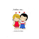 "Чехол для HTC One M8 dual sim ""Love is..."" - интернет-магазин чехлов endorphone.com.ua"