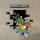 """Гибридный чехол для iPhone 5 """"Minecraft 6"""" - интернет-магазин чехлов endorphone.com.ua"""