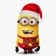 """Чехол для Samsung Galaxy J7 J700H """"Миньоны. Рождество"""" - интернет-магазин чехлов endorphone.com.ua"""