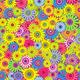 """Чехол для iPhone XS Max """"Разноцветные цветы"""" - интернет-магазин чехлов endorphone.com.ua"""