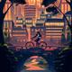 "Чехол для iPhone 5 ""Orange-bikes"" - интернет-магазин чехлов endorphone.com.ua"