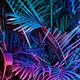 """Силиконовый чехол для Sony Xperia E4g """"Папоротник под ультрафиолетом"""" - интернет-магазин чехлов endorphone.com.ua"""