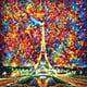 """Гибридный чехол для iPhone 5 """"Париж"""" - интернет-магазин чехлов endorphone.com.ua"""