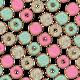 """Чехол для iPhone 5 """"Пончики 1"""" - интернет-магазин чехлов endorphone.com.ua"""