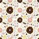 """Гибридный чехол для iPhone 5 """"Пончики 25"""" - интернет-магазин чехлов endorphone.com.ua"""