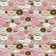 """Чехол для HTC One M8 dual sim """"Пончики в глазури"""" - интернет-магазин чехлов endorphone.com.ua"""