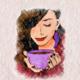 """Силиконовый чехол для Meizu E3 """"Романтический"""" - интернет-магазин чехлов endorphone.com.ua"""
