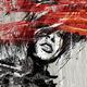 """Гибридный чехол для iPhone 5 """"Лицо девушки"""" - интернет-магазин чехлов endorphone.com.ua"""